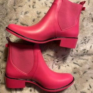 Kate Spade ♠️ pink boots